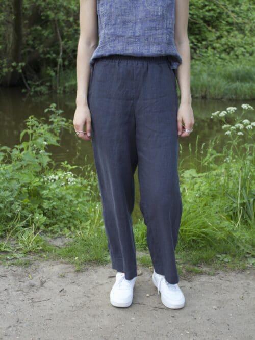 bukser i hør